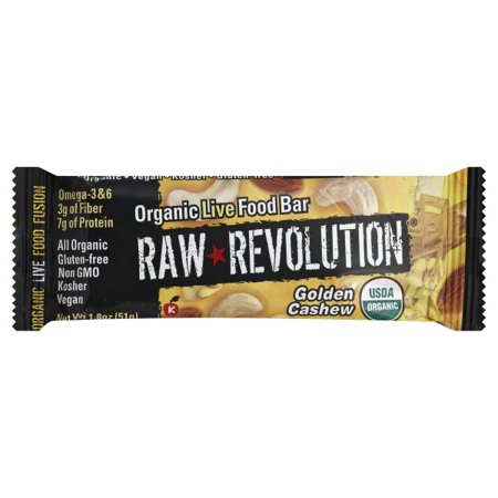 Raw Indulgence Raw Revolution  Live Food Bar, 1.8 oz