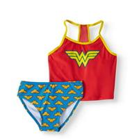 Little Girls' 4-6X Bikini 2-Piece Swimsuit