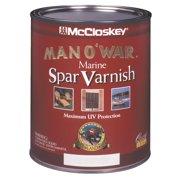 McCloskey Man O'War Spar Marine Interior & Exterior Varnish