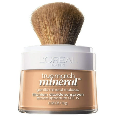 L'Oreal True Match Mineral Foundation, Nude Beige [460], 0.35