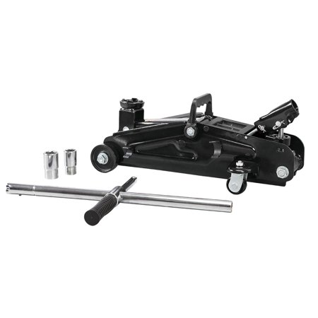 2 Ton Jack Stands - Torin Blackjack Roadside Kit with a 2 Ton Trolley Jack with Lug Wrench