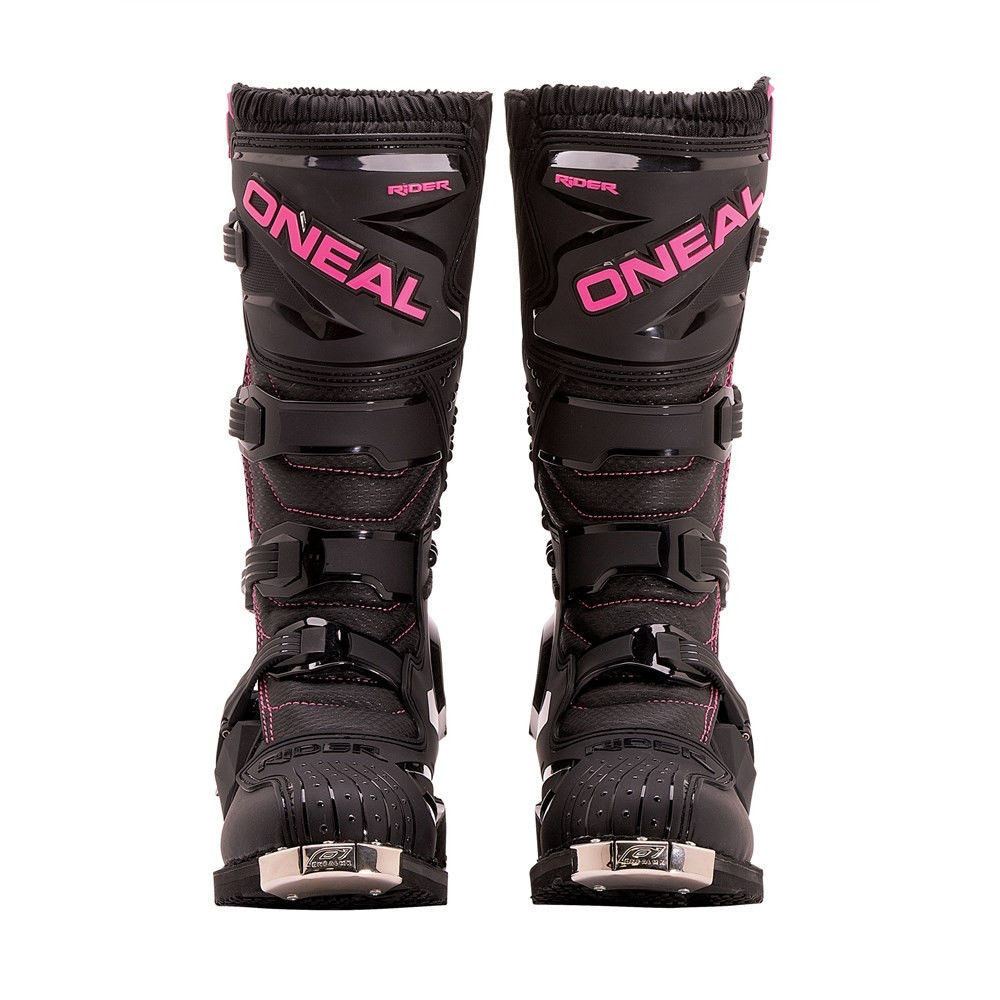 Oneal 2017 Womens Rider Offroad Motocross Boots Black - Pink/Black - 0324