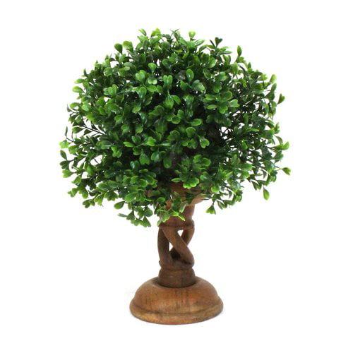 Dalmarko Designs Boxwood Topiary in Planter