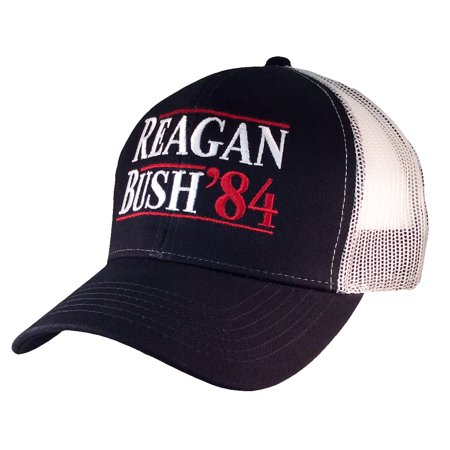 0dc2398b9 Reagan Bush 84 Campaign Adult Trucker Hat
