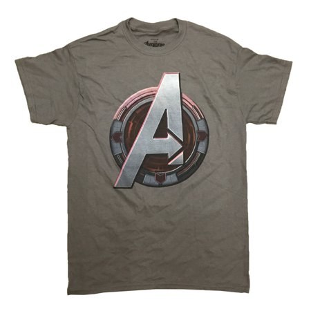 Avengers Age Of Ultron Hawkeye Logo Marvel Comics Adult T-Shirt (Hawkeye From Avengers)