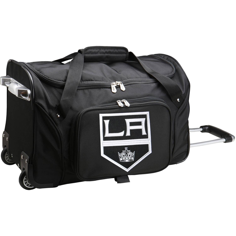 "Denco NHL 22"" Rolling Duffel, Los Angeles Kings by Mojo Licensing"