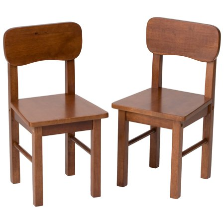 Gift Mark Round Table Chairs-Set of 2 (Kids Accent Table)