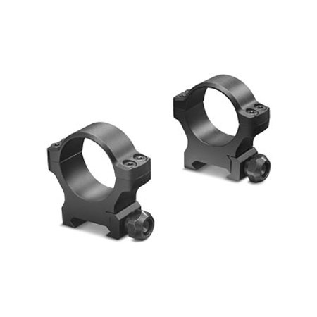 Matte Aluminum Edge (Leupold 175120 BackCountry Cross-Slot Ring Set 30mm Diam Medium Aluminum Black Matte )