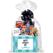 Best Dad Happy Father's Day / Birthday Dad Appreciation Thinking of You Cookies, Candy & More Care Package Assortment Variety Gift Box Bundle Set