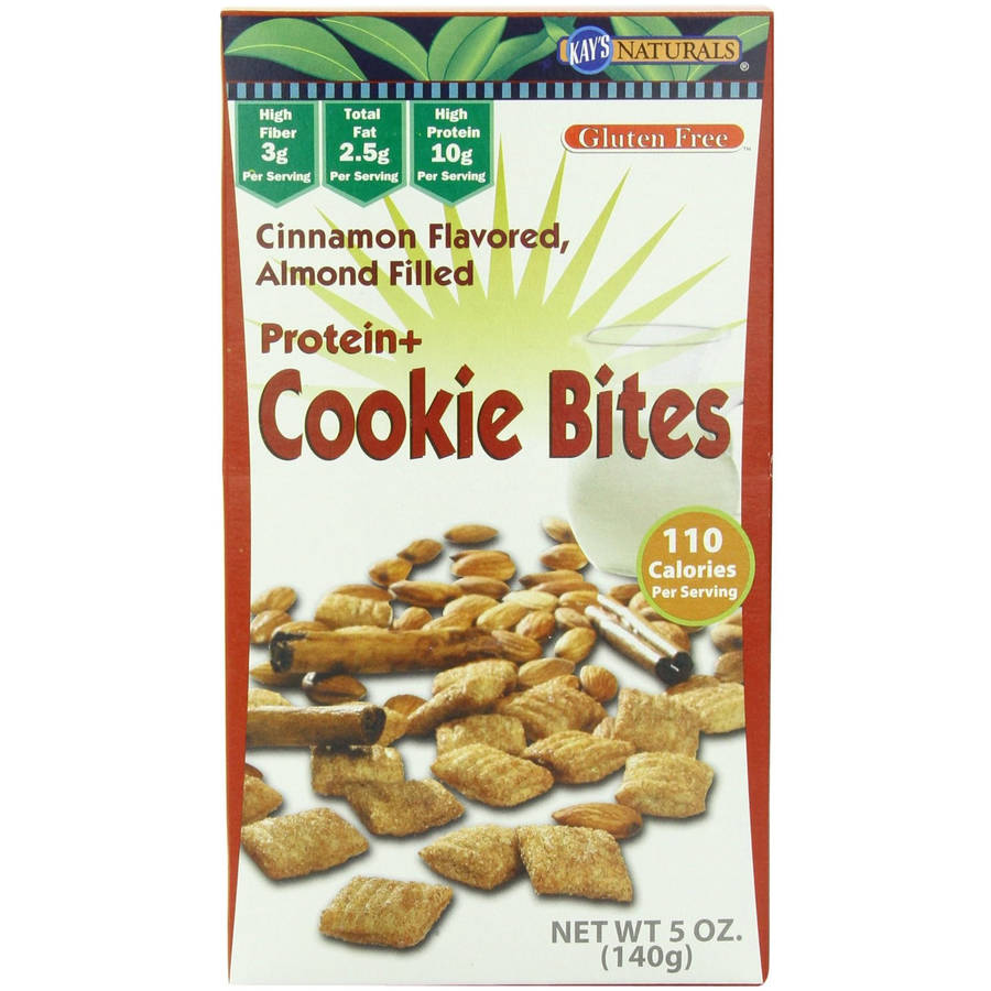 Kay's Naturals Gluten Free Honey Almond Protein Cookie Bites, 1.2 oz, (Pack of 6)