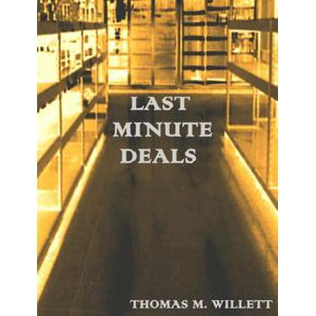 Last Minute Deals - eBook (Last Minute Halloween Customes)