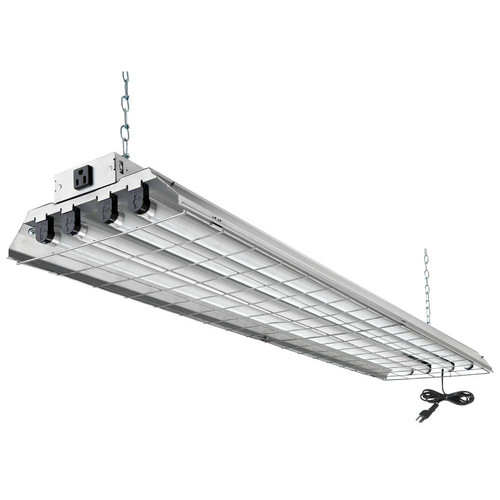 """Lithonia Lighting 1284GRD RE 4 Light 48"""" Wide 120V Fluorescent Strip Light with"""