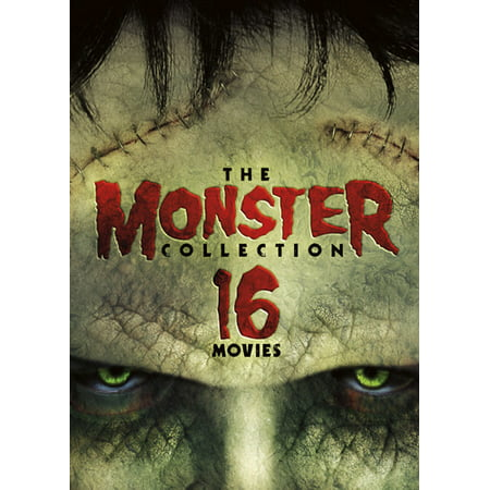 The Monster Collection - 16 Movies (DVD) - Monster High Halloween Movie English