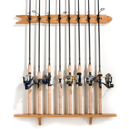 Organized Fishing Modular Wall Rack 2 Pack