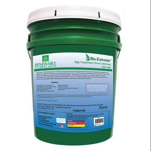 Renewable Lubricants Lubricant, Pail, White, 5 gal., 81864