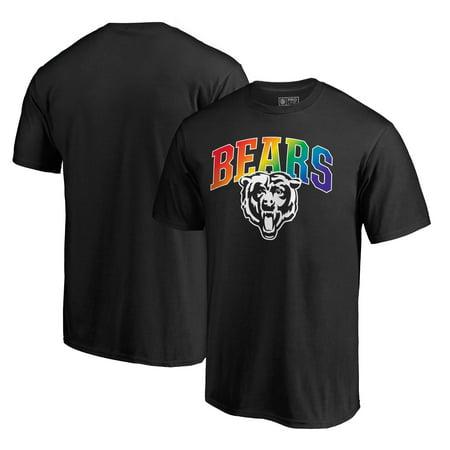 Chicago Bears NFL Pro Line by Fanatics Branded Pride T-Shirt - Black ()