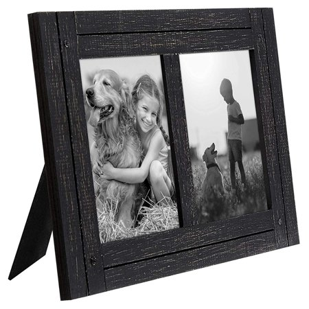 Americanflat Collage Distressed 5 X 7 Wood Picture Frame