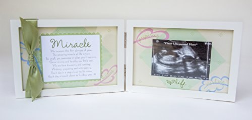 The Grandparent Gift Co Miracle Ultrasound Frame