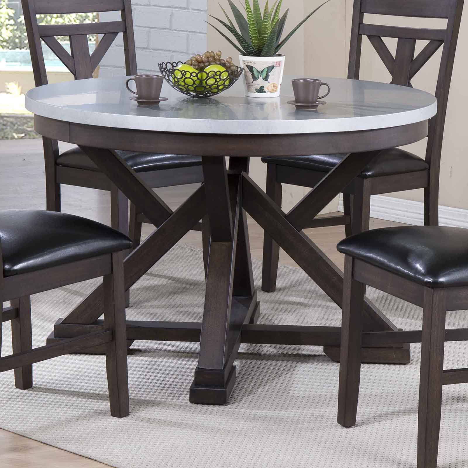 ECI Hamilton 48 in. Round Dining Table
