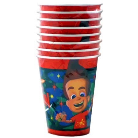 Jimmy Neutron 9oz Paper Cups - Jimmy Neutron Party