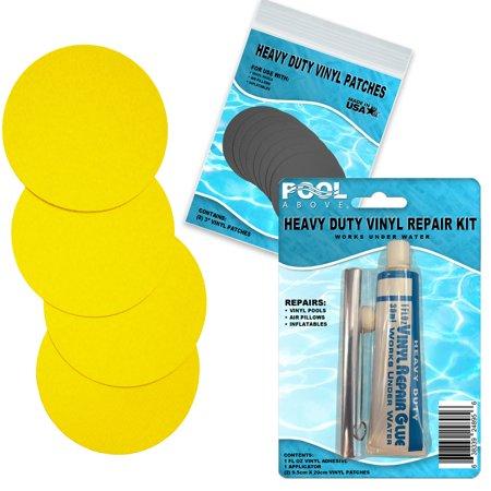 Vinyl Repair Patch Glue Kit for Intex Yellow Duck