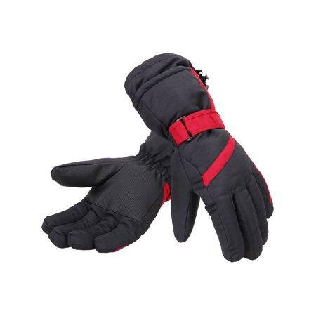 Women 3M Thinsulate Lined Waterproof Snowboard / Ski Gloves,S,Black (Gnu Womens Snowboard)