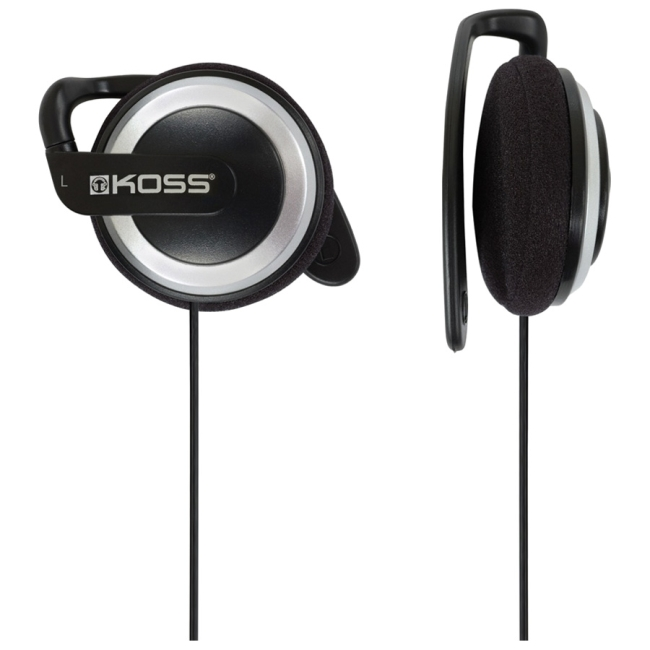 Koss KSC21 Ear Clip Headphones - Stereo - Mini-phone - Wired - 36 Ohm - 50 Hz 18 kHz - Over-the-ear - Binaural - Supra-a
