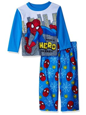 Marvel Little Boys' Spiderman 2-Piece Pajama Set