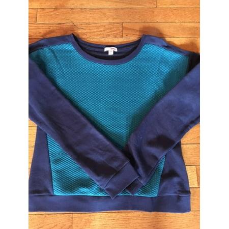 Bongo Teal Sweatshirt 2-Tone size Small