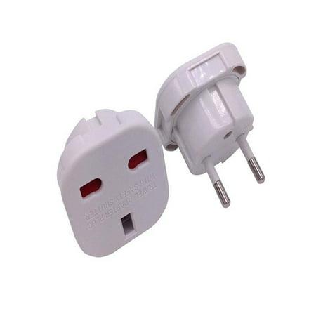 OkrayDirect UK To EU Euro Europe European Travel Adaptor Plug 2 in 1 Adapter