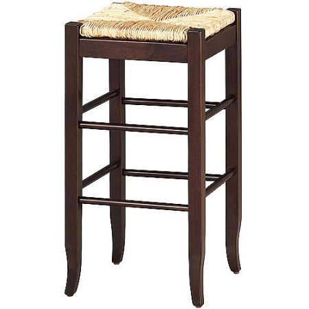 "Boraam 24"" SQ Rush Counter Stool, Multiple Colors"