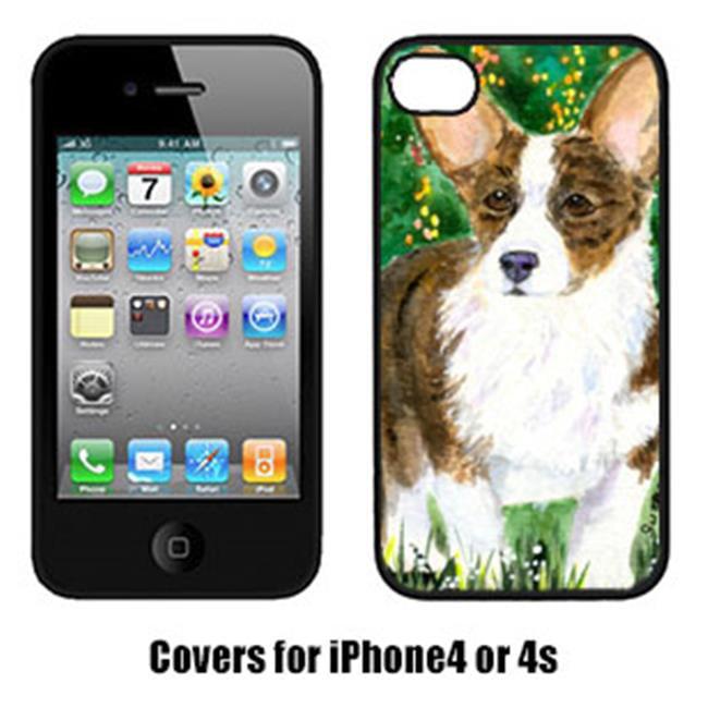 Carolines Treasures SS8970IP4 Corgi Cell Phone Cover Iphone4 - image 1 de 1