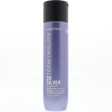 Matrix Total Results Color Obsessed So Silver Purple Shampoo, 10.1 oz (Pack of 2)