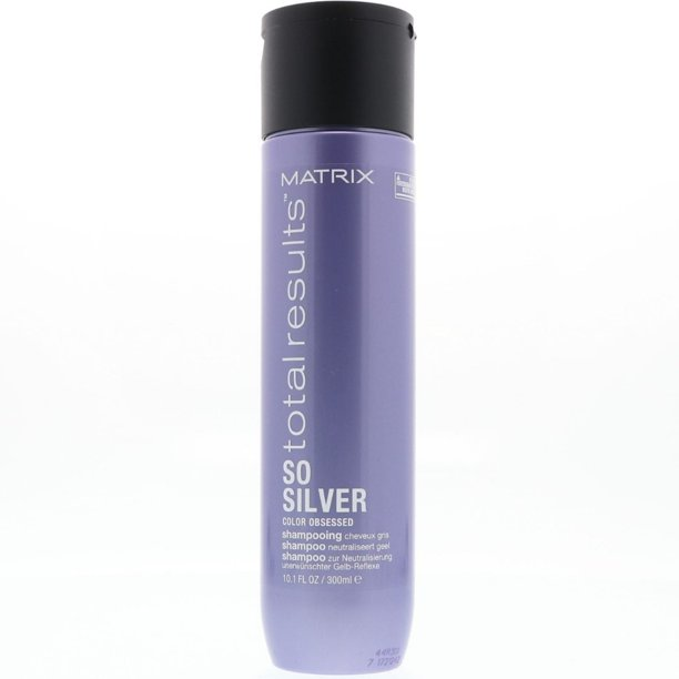 Matrix Total Results Color Obsessed So Silver Purple Shampoo, 10.1 oz (Pack of 3)