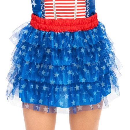 Blue and White Stars Adult Tutu Halloween Accessory](Star Wars Tutu)