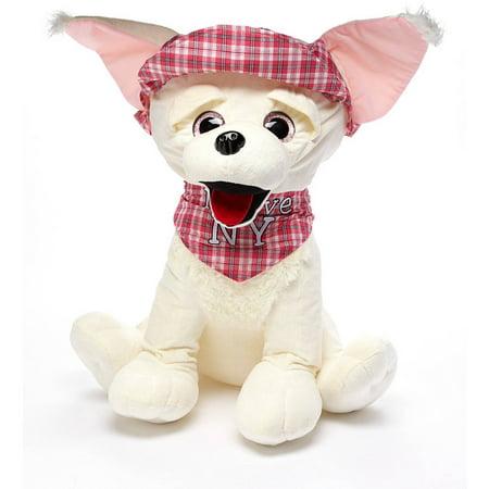 Air 30 Stuffed Plush Chihuahua Pink Walmart Com