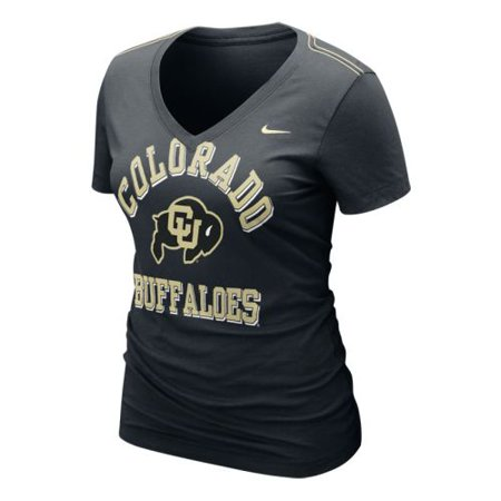 Nike Colorado Buffaloes Womens Whose That V Neck T Shirt
