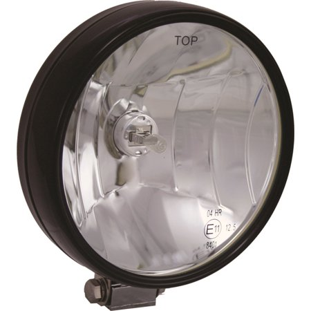 Vision X Lighting 4000414 VX 6510 Series Halogen Off Road Light; Black; 6.7 in. x 6. in. x 7 in.; Euro Lamp Beam Pattern; 12V DC; 100W; Pair; Stock Code - Euro Off Road