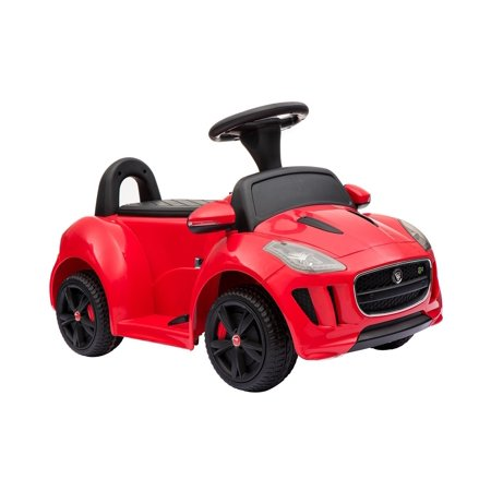 Buy-Hive Kids Ride On Car Licensed Jaguar Push Ride-On Toy Electric Car Gift