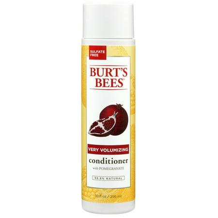 Burt's Bees Very Volumizing Pomegranate Conditioner, Sulfate-Free Conditioner - 10 (Sexy Volumizing Conditioner)