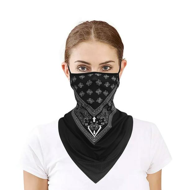 Camouflage Cycling Triangle Scarf Headwear Ice Silk Face Cover Sports Balaclava