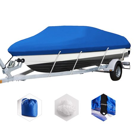 20-22Ft Waterproof Heavy Duty Fabric Boat Cover Trailerable V-Hull 100