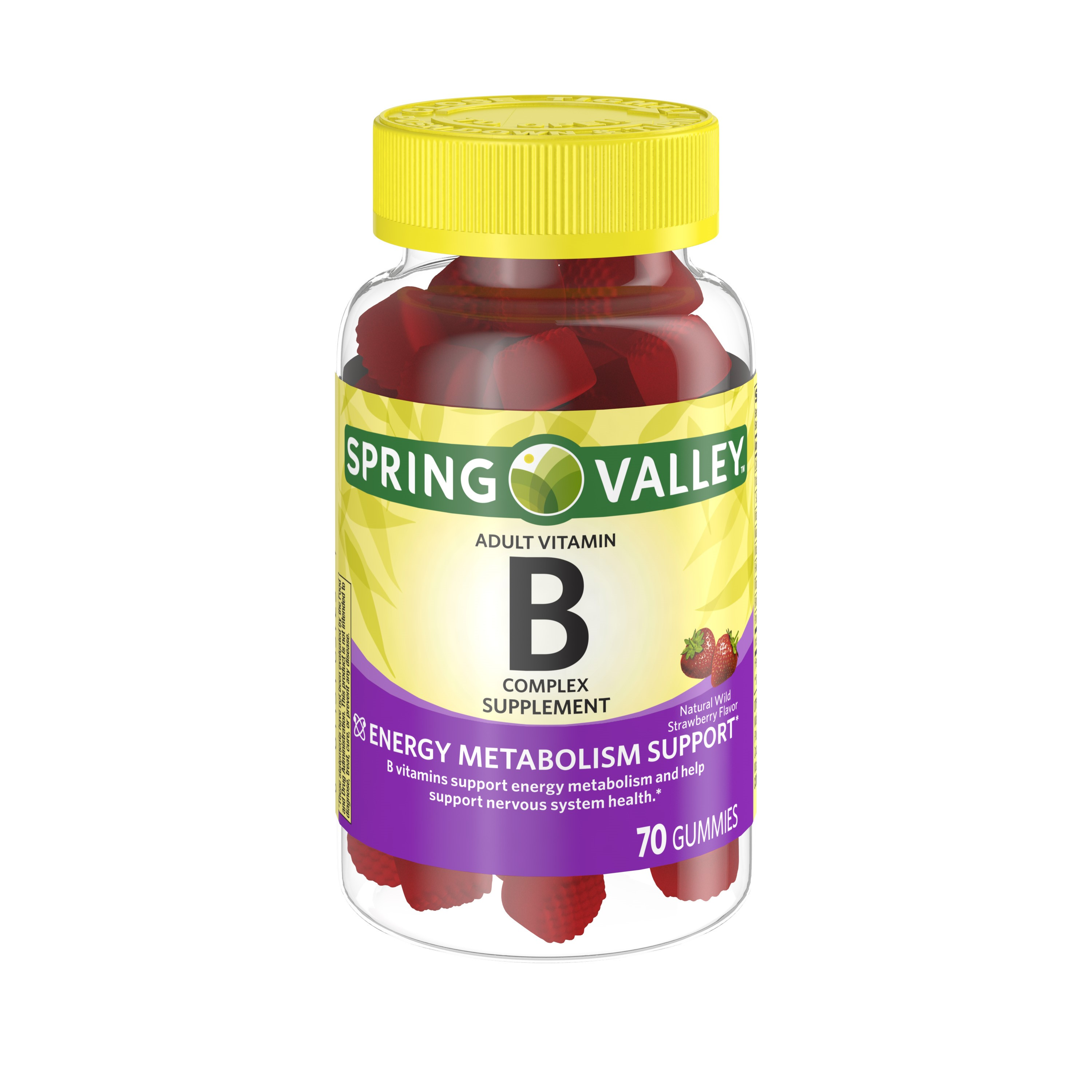 Spring Valley B Complex Adult Gummies, 70 Ct