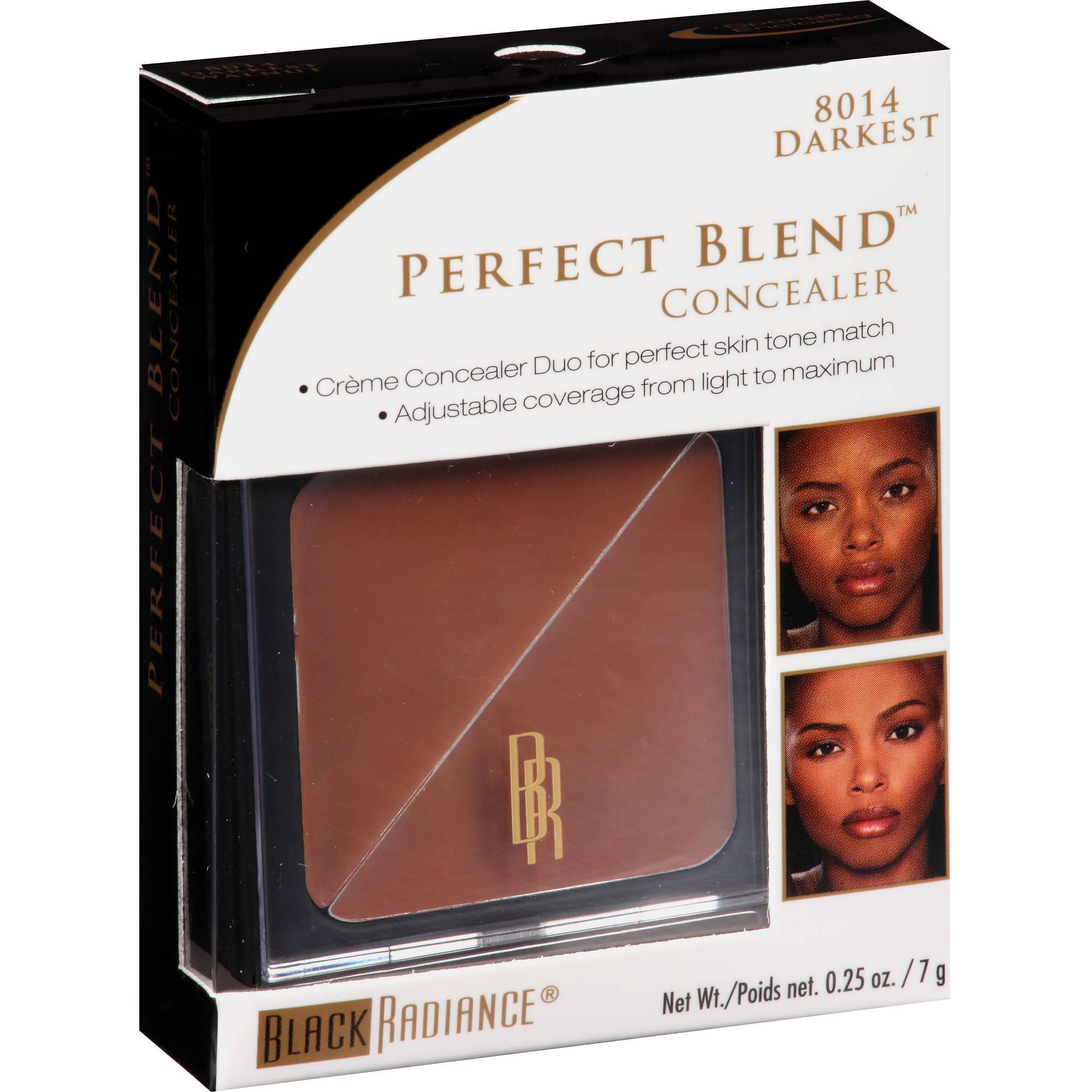 Black Radiance Perfect Blend Concealer, 8014 Darkest Walnut, 0.25 oz