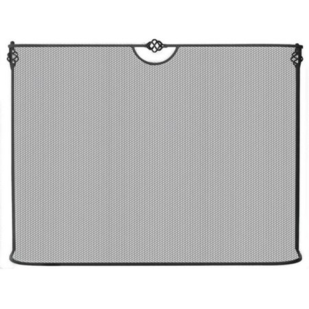 Curved Wrought Iron Sparkguard 3931 ()