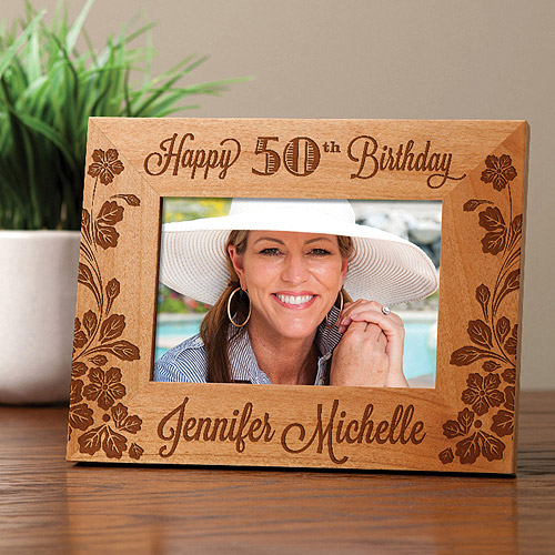 Personalized Her Birthday Frame