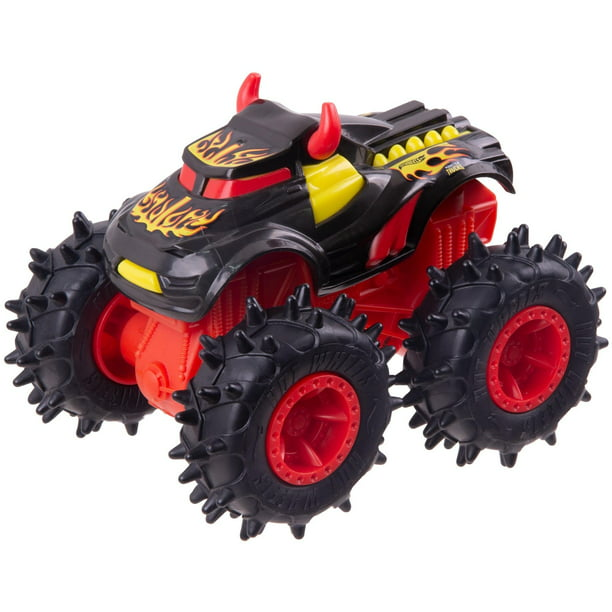 Monster Trucks By Hot Wheels 1 43 Scale Vehicle Styles May Vary Walmart Com Walmart Com