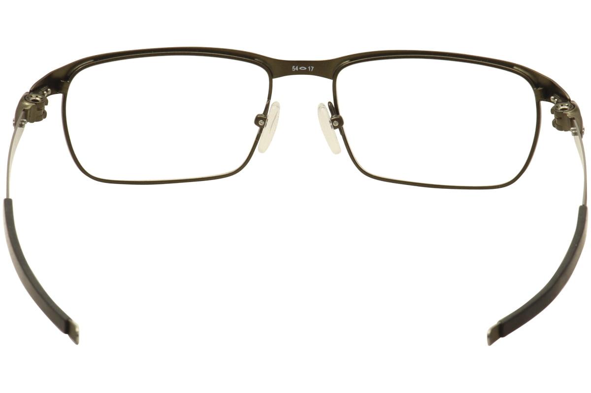 e6a6820a18 Oakley Eyeglasses Tincup OX3184 OX 3184 0254 Powder Pewter Optical Frame  54mm - Walmart.com