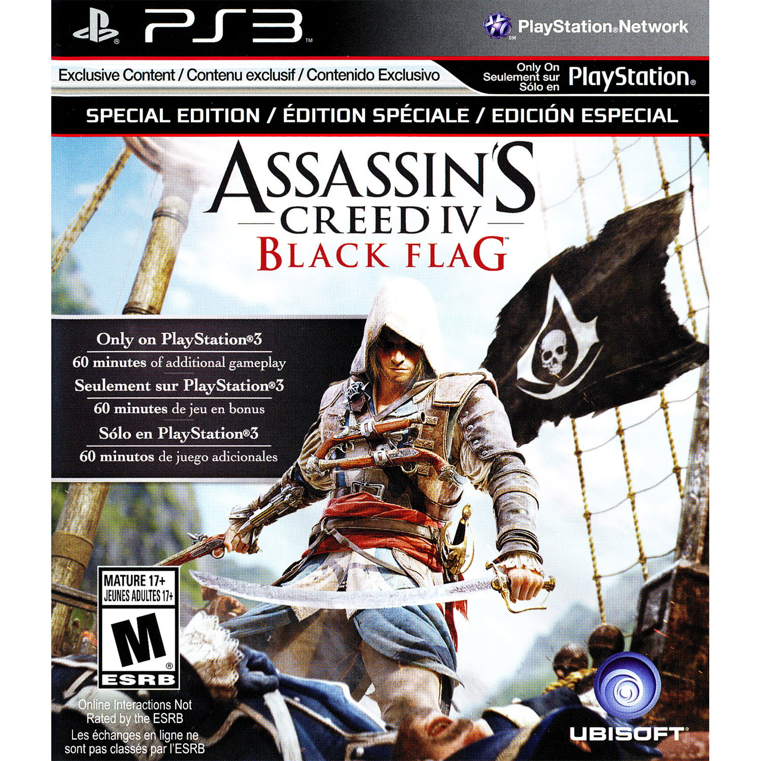 Ubisoft Assassin S Creed Iv Black Flag Ps3 Walmart Com