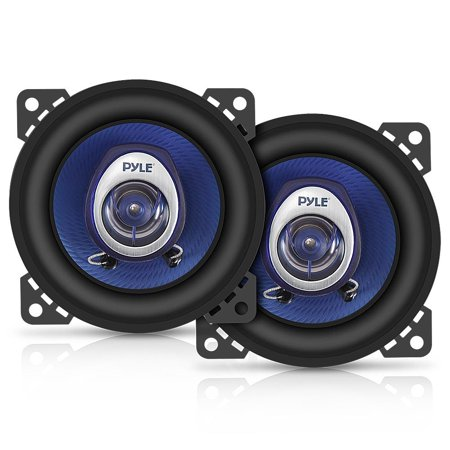 PYLE PL42BL - 4'' 180 Watt Two-Way Speakers 5 Way Gear Speaker